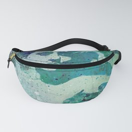 Heavy Crown (nude butterfly pin up, erotic graffiti) Fanny Pack