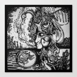 Swan Medicine Canvas Print
