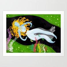 the Ophelia Art Print