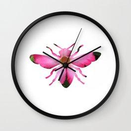 bee_dream_10 Wall Clock