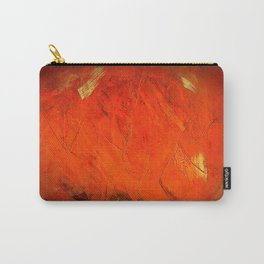 Italian Style Orange Stucco - Adobe Shadows Carry-All Pouch