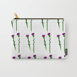 Fan's pattern design-Red carnation Carry-All Pouch