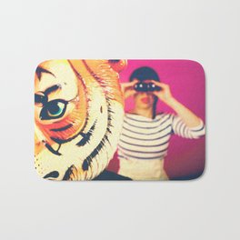 Teach me tiger Bath Mat