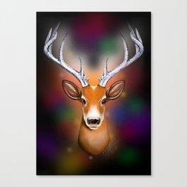 Christmas Woodland Beast Canvas Print