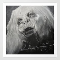 dracula Art Prints featuring Dracula by Jasmine