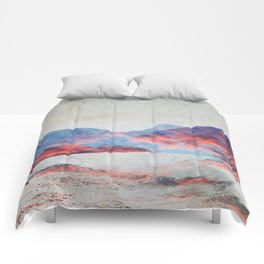 Fall Mountains Comforters