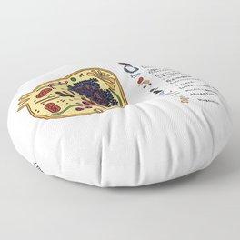 Cellular Floor Pillow