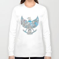 indonesia Long Sleeve T-shirts featuring Indonesia Garuda by ginan perdana
