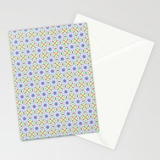 Cute tribal spring patterns Stationery Cards