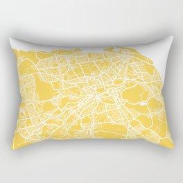 Edinburgh map yellow Rectangular Pillow