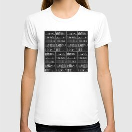Antique Library Shelves - Books, Books and More Books T-shirt