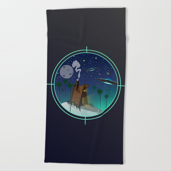 The Visit Beach Towel