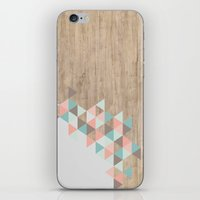 triangle iPhone & iPod Skins featuring Archiwoo by Marta Li