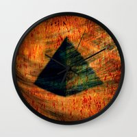 egyptian Wall Clocks featuring Egyptian wind by  Agostino Lo Coco
