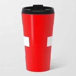 Flag of Switzerland - Authentic (High Quality Image) Travel Mug