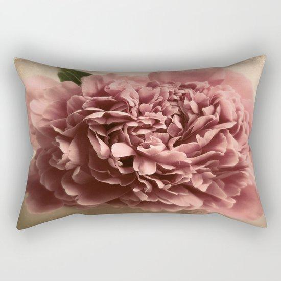 Shabby Peony  Rectangular Pillow