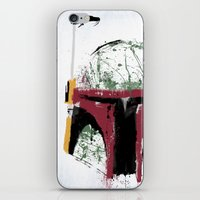 boba iPhone & iPod Skins featuring Boba by Purple Cactus
