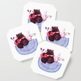 Bear & Bunny Coaster