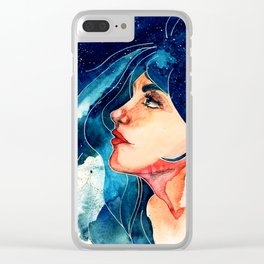 Luna Clear iPhone Case