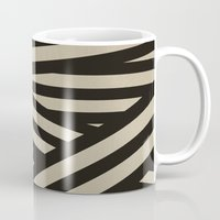 decal Mugs featuring Bandage by Charlene McCoy