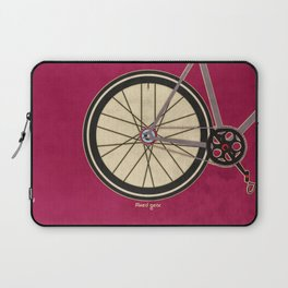 Single Speed Bicycle Laptop Sleeve