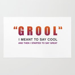 Grool - Quote from the movie Mean Girls Rug