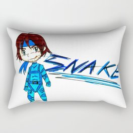 MGS - Snake Rectangular Pillow