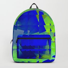 Square glass 7 Backpack