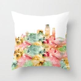 Corpus Christi Skyline Texas Throw Pillow