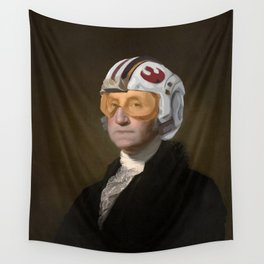 Rebel Allience General Washington Wall Tapestry