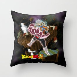 Goku vs Jiren Throw Pillow