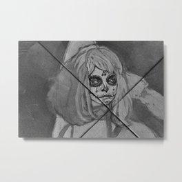 Dias los muertos Metal Print
