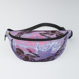Purple Harmony Fanny Pack