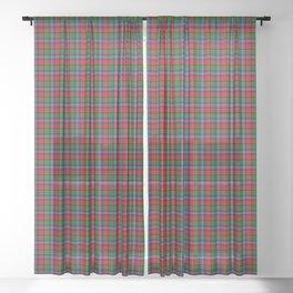 Kilgore Tartan Plaid Sheer Curtain