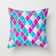 Geo-Colour Throw Pillow