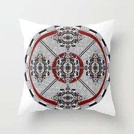 Coronakinesis Throw Pillow