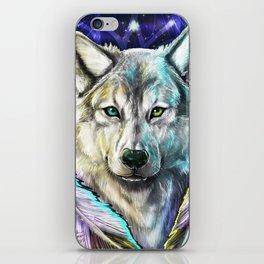 Dream Wolf iPhone Skin