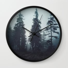 Leave In Silence Wall Clock
