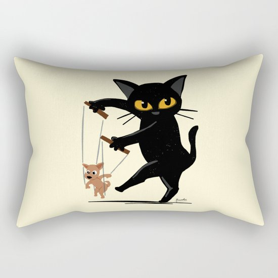 Puppet Rectangular Pillow