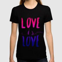 Love is Love - bi T-shirt