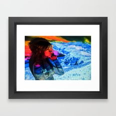 Untitled: Projection Series #18 Framed Art Print