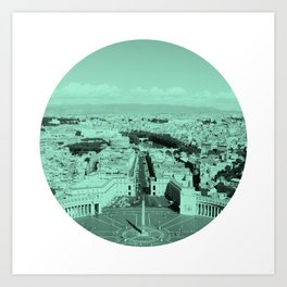 Vatican City Art Print