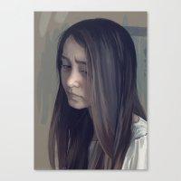 jasmine Canvas Prints featuring Jasmine by Carolin Vogt