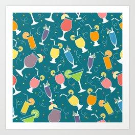 Drinks Art Print