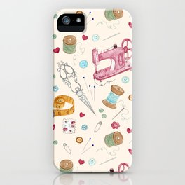 Sewing iPhone Case