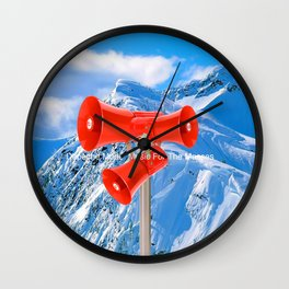 """DM """"Music For The Masses"""" Wall Clock"""