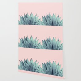 Agave Vibes #12 #tropical #decor #art #society6 Wallpaper