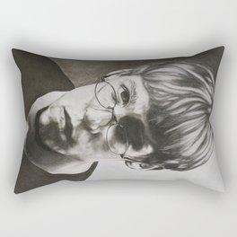 Looking: Nick Pruitt  Rectangular Pillow
