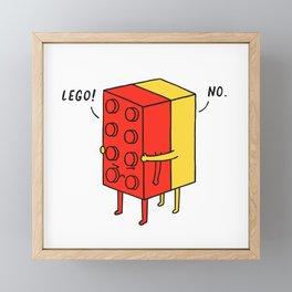 I'll Never Le Go Framed Mini Art Print