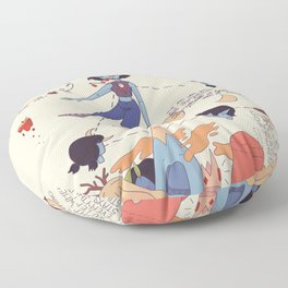Everything Stays Floor Pillow